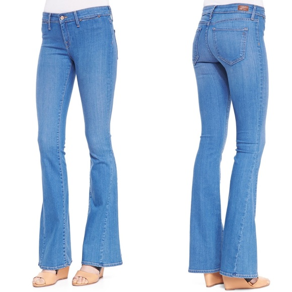 quality products classic chic modern techniques • Joie • Mid Rise Flare Leg Jeans Aqueous